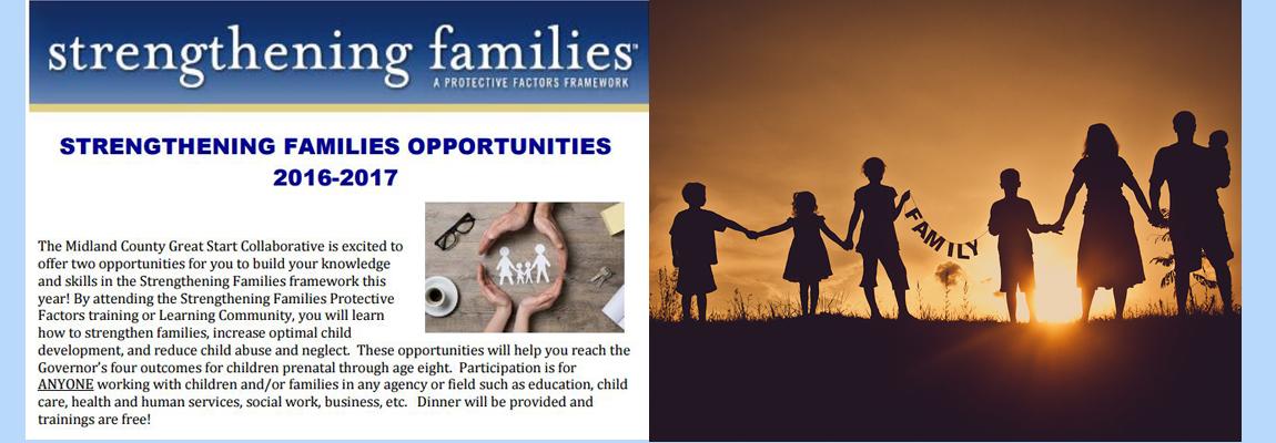 Strengthening Families Opportunities 2016-2017