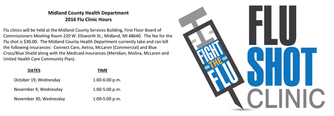 Midland County Health Department Flu Clinic Hours