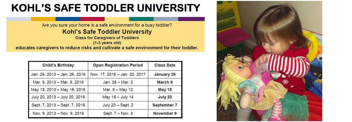 Safe Toddler University 2017