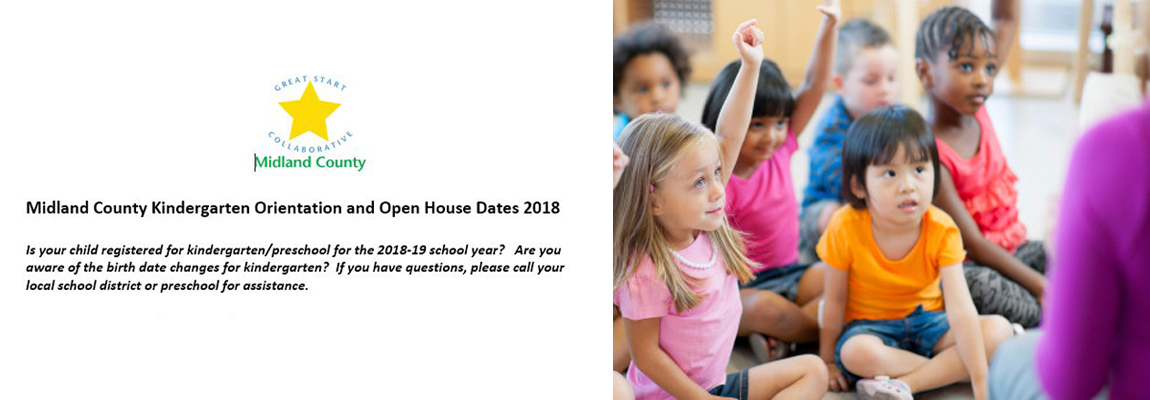 Preschool and Kindergarten Open House and Round Up Dates 2018