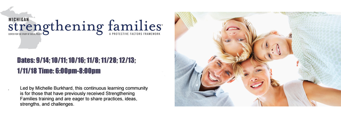 Strengthening Families Continuous Learning Community