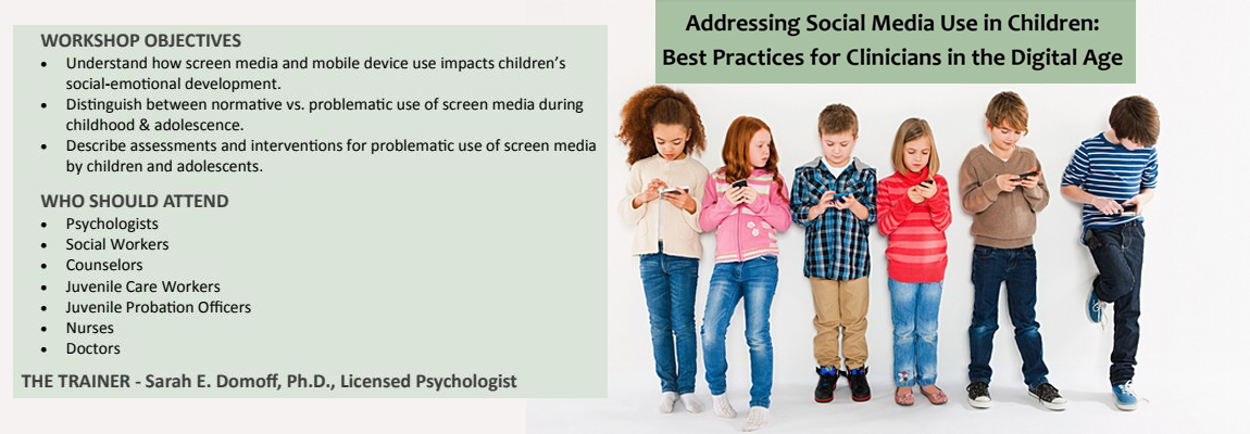 Addressing Social Media Use in Children: Best Practices for Clinicians in the Digital Age