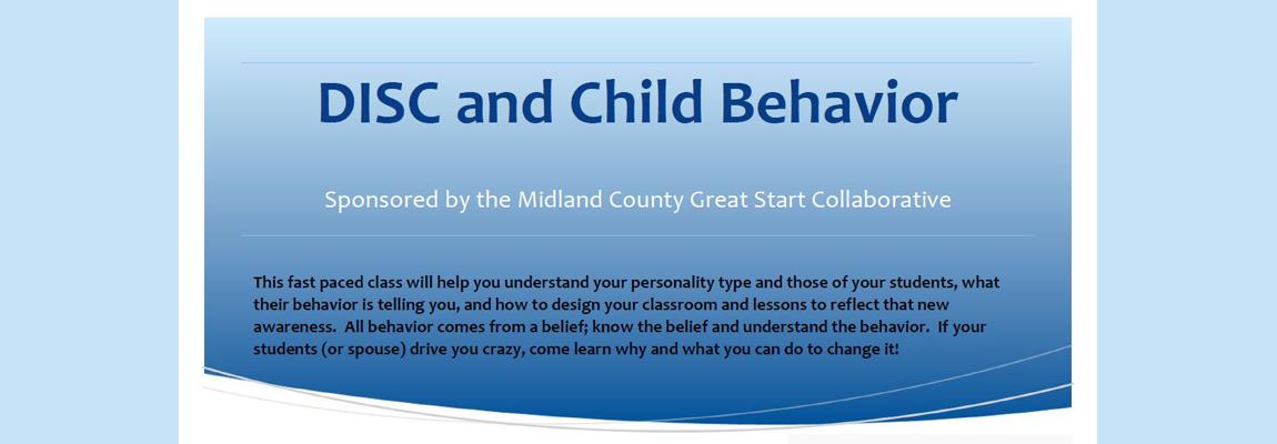DISC and Child Behavior Training