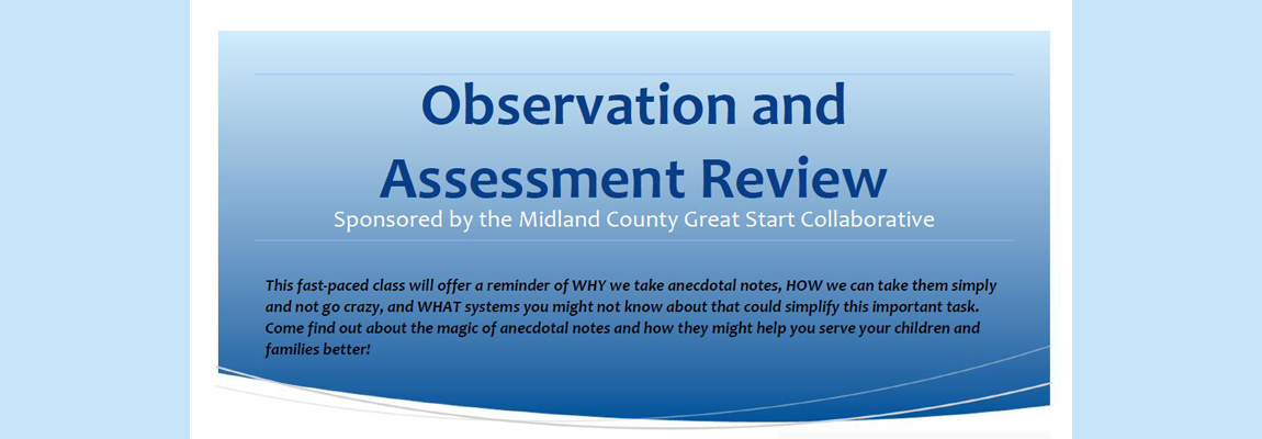 Observation and Assessment Review Training
