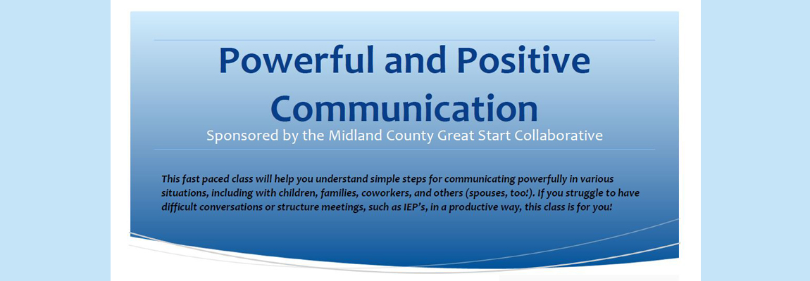 Powerful and Positive Communication Training