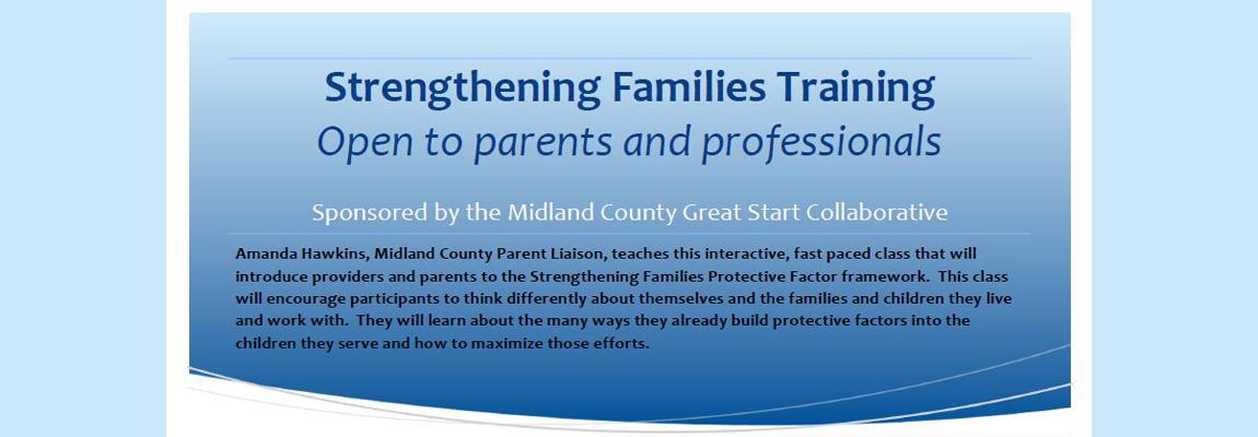 Strengthening Families Training 2019