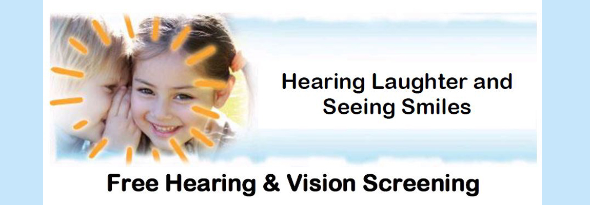 Free Hearing & Vision Screening